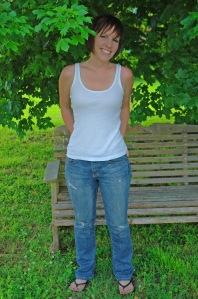 My too-skinny self a few years ago