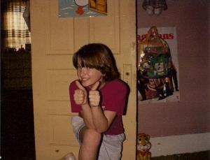 My super cool friend Morgan, circa 1990-ish