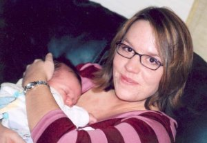 Me at 26, with my friend's baby girl