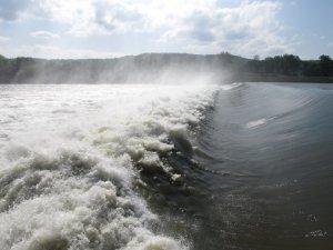 White River dam