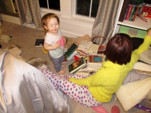 One example of why moms of toddlers must embrace chaos