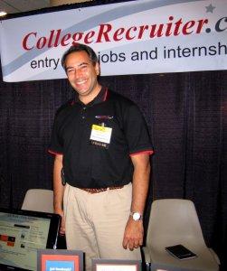 My boss, Steven Rothberg, circa 2008. :)